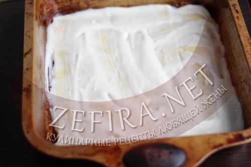 Сборка лазаньи Болоньезе с соусом Бешамель шаг2