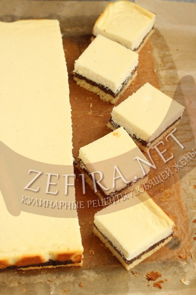 Пирог с маком и творогом - рецепт и фото