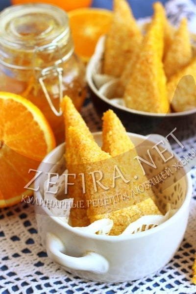 Постное печенье из моркови - рецепт и фото