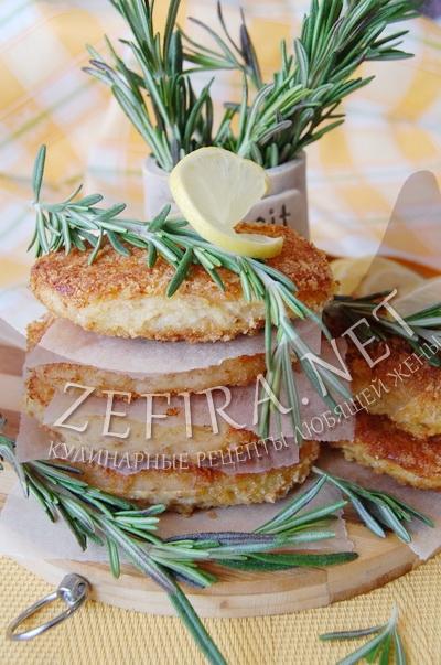 Рыбные котлеты с овощами в духовке - рецепт и фото