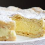 Заварной пирог с заварным кремом «Карпатка»