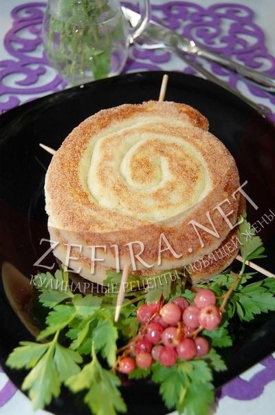 Колбаса из картофеля - рецепт и фото