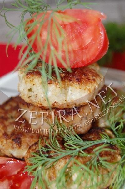 Котлеты из филе рыбы с зеленью - рецепт и фото