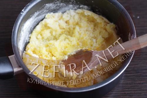 Заварной масляный крем - шаг 2