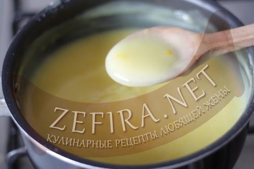 Заварной масляный крем - шаг 5