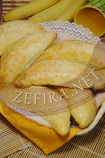 Печенье «Бананы» с творогом и бананами - рецепт и фото