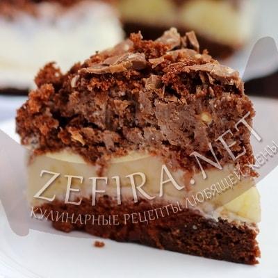 рецепт с фото торта шоколадного