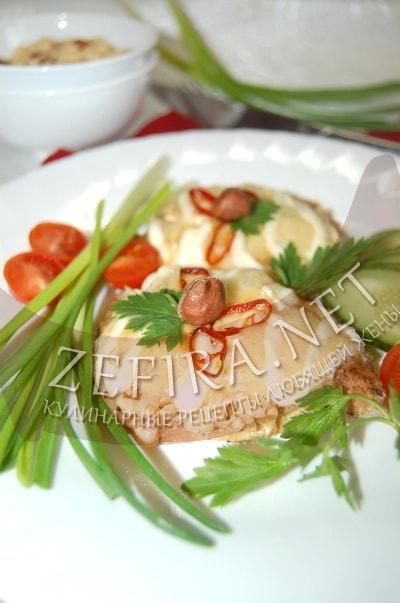 Свинина с арахисом в духовке - рецепт и фото