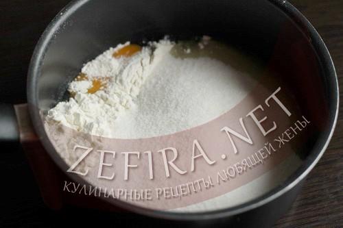 Торт на сковороде со сгущенкой - крем шаг 1