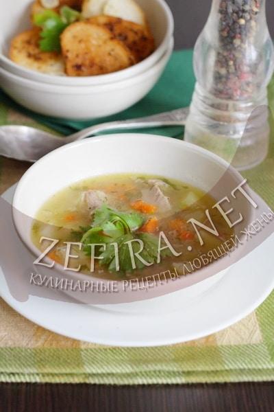 Гороховый суп с мясом - рецепт и фото