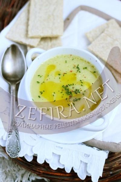 Крем-суп из топинамбура - рецепт и фото
