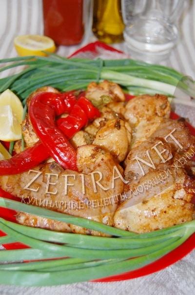 Куриные крылья в кисло-сладком соусе, запеченные в рукаве - рецепт и фото