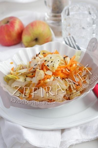 Салат с сельдереем и курицей - рецепт и фото