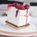 Вкусный торт с суфле без выпечки