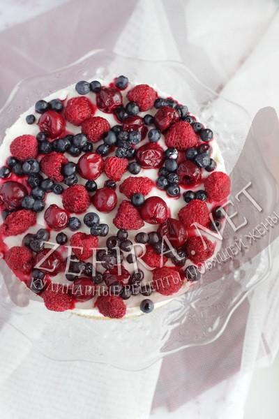 Вкусный торт суфле без выпечки - рецепт и фото