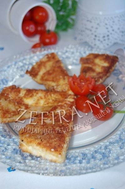 Жареный адыгейский сыр в панировке - рецепт и фото