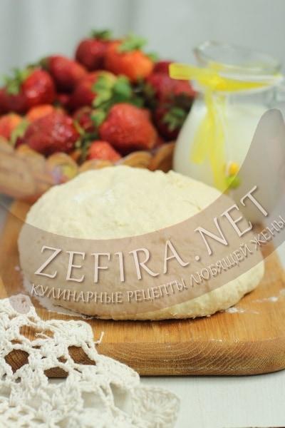 Тесто для вареников на кефире - рецепт и фото