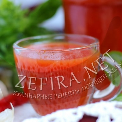 Домашний кетчуп без уксуса