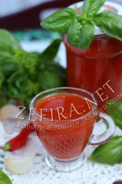 Домашний кетчуп без уксуса - рецепт и фото