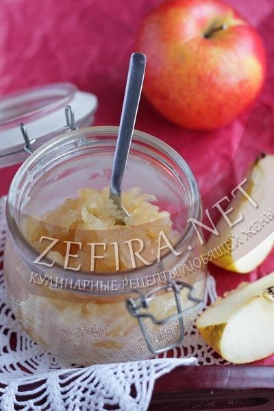 Джем из яблок - простой и быстрый рецепт