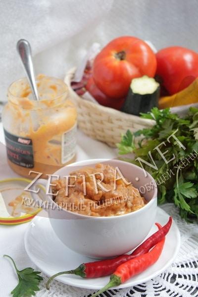 Соус из кабачков - рецепт и фото