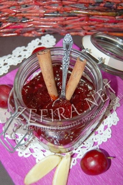Варенье из сливы с корицей - рецепт и фото