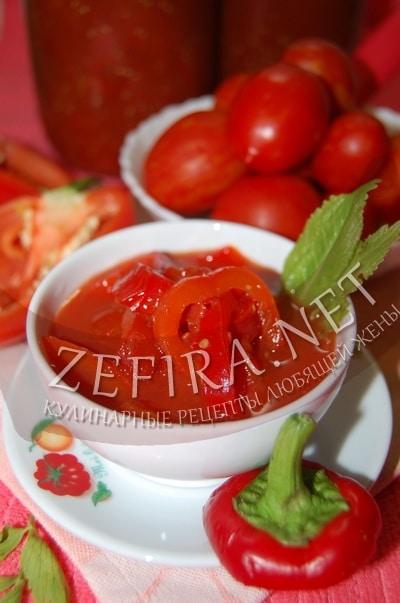Болгарское лечо без уксуса - рецепт и фото