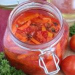 Лечо из помидоров, моркови и болгарского перца