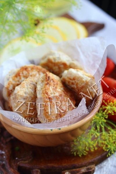 Оладьи из кабачков с фаршем - рецепт и фото
