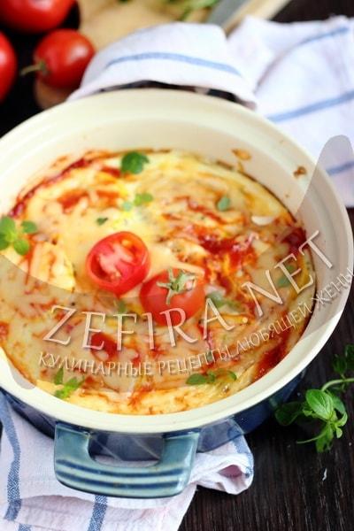 Омлет с кабачками - рецепт в духовке с фото