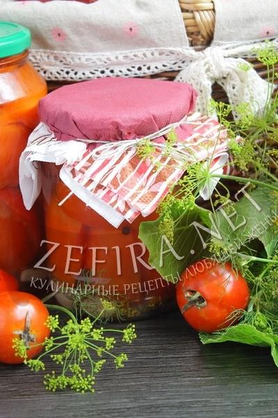 Рецепт маринованных на зиму помидоров с лимонной кислотой - рецепт и фото