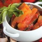 Салат из кабачков с помидорами и перцем на зиму