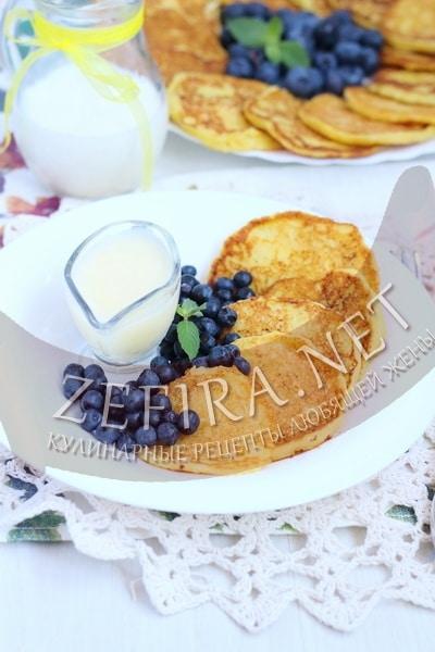 Сладкие оладьи из кабачков - рецепт и фото