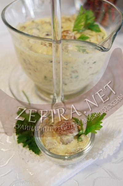 Рецепт сливочный суп с лесными грибами
