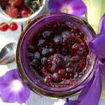 Варенье из кабачков с ягодой