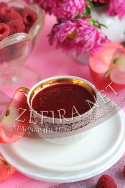 Варенье из малины с яблоками - рецепт и фото