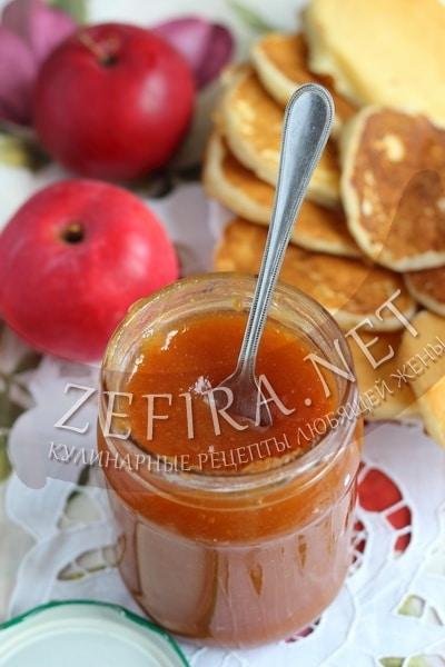 Варенье из персика, груши и яблока - рецепт и фото