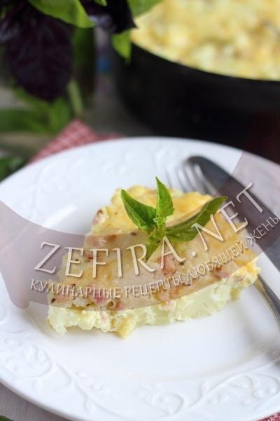 Запеканка из цветной капусты с сыром - рецепт и фото