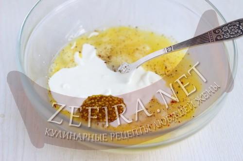 Запеканка из цветной капусты с сыром - шаг6 приготовления