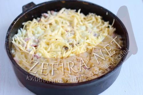 Запеканка из цветной капусты с сыром - шаг8 приготовления