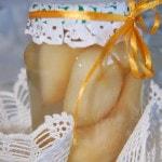 Консервированные груши дольками в собственном соку