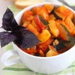 Рецепт кабачкового салата с помидорами и перцем на зиму
