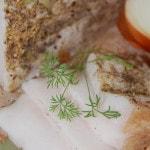Соленое сало – рецепт засолки в рассоле с чесноком