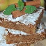 Сухой пирог с яблоками и корицей «Венгерский»