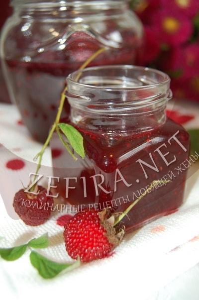 Желе из малины на зиму - рецепт и фото