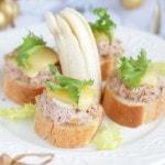 Горячие бутерброды с тунцом и бананом