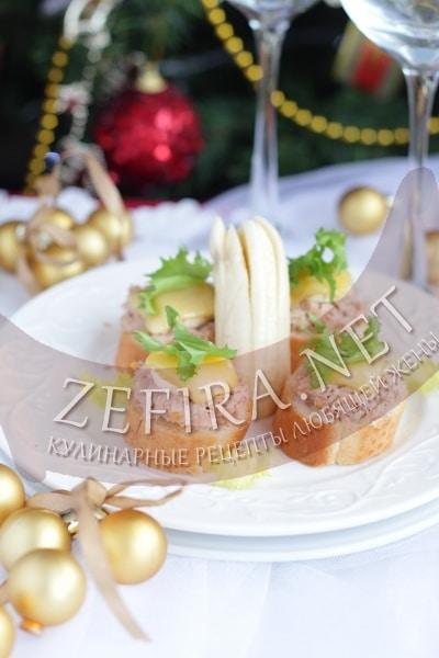 Горячие бутерброды с тунцом и бананом - рецепт и фото
