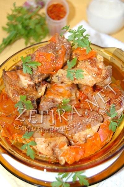 Курица с морковью в молочном соусе - рецепт и фото