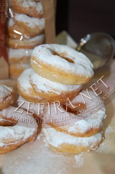 Пончики на сметане пышные рецепт с фото
