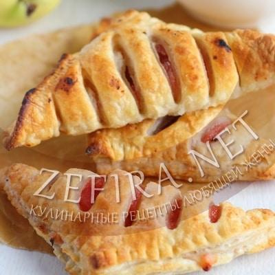 рецепт слойки с яблоками с фото